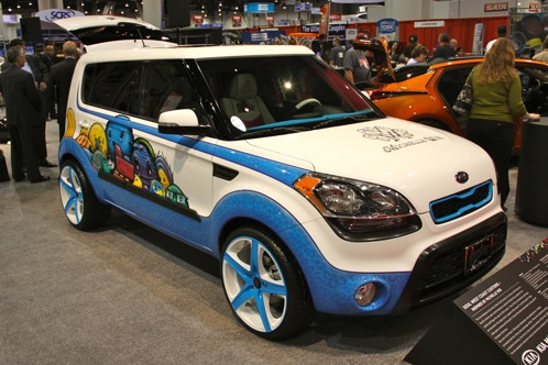 'Hole In One' Kia Soul - SEMA Auto Show
