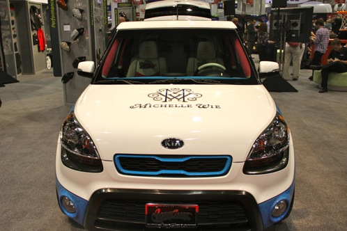 'Hole In One' Kia Soul - SEMA Auto Show featured image large thumb2