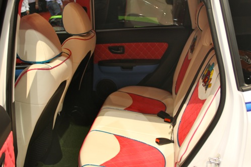 'Hole In One' Kia Soul - SEMA Auto Show featured image large thumb8