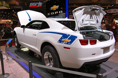 2012 Chevrolet Camaro - SEMA Auto Show featured image large thumb1