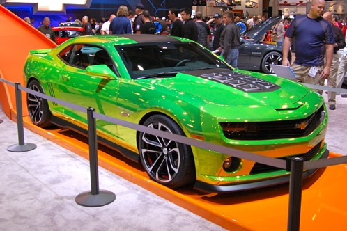 2012 Chevrolet Camaro - SEMA Auto Show featured image large thumb6