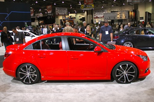 2012 Chevrolet Cruze Concepts - SEMA Auto Show featured image large thumb2