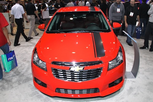 2012 Chevrolet Cruze Concepts - SEMA Auto Show featured image large thumb6