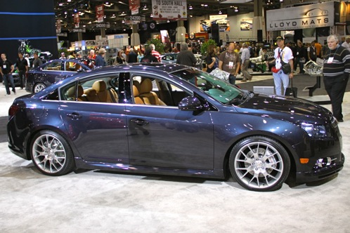 2012 Chevrolet Cruze Concepts - SEMA Auto Show featured image large thumb9