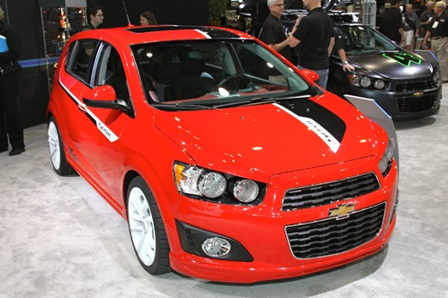 2012 Chevrolet Sonic - SEMA Auto Show featured image large thumb1