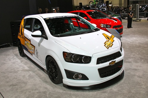 2012 Chevrolet Sonic - SEMA Auto Show featured image large thumb2