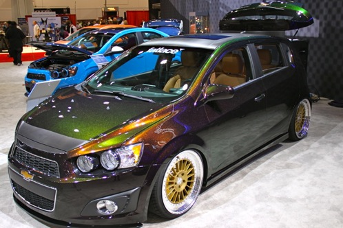 2012 Chevrolet Sonic - SEMA Auto Show featured image large thumb3
