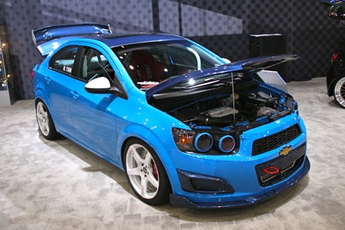 2012 Chevrolet Sonic - SEMA Auto Show featured image large thumb4