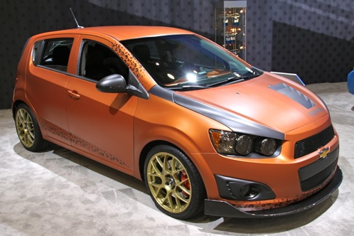 2012 Chevrolet Sonic - SEMA Auto Show featured image large thumb5