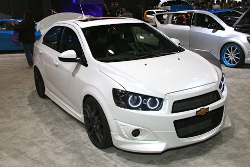 2012 Chevrolet Sonic - SEMA Auto Show featured image large thumb6