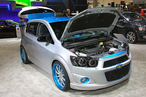 2012 Chevrolet Sonic - SEMA Auto Show featured image large thumb7
