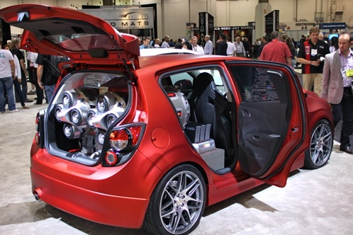 2012 Chevrolet Sonic - SEMA Auto Show featured image large thumb8