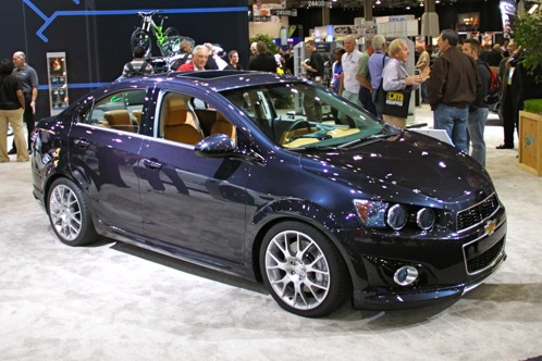 2012 Chevrolet Sonic - SEMA Auto Show featured image large thumb9