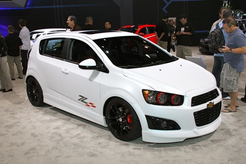 2012 Chevrolet Sonic - SEMA Auto Show featured image large thumb11