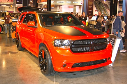 Dodge Goes Bright with Durango Tow Hook - SEMA Auto Show featured image large thumb1