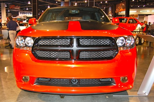 Dodge Goes Bright with Durango Tow Hook - SEMA Auto Show featured image large thumb2