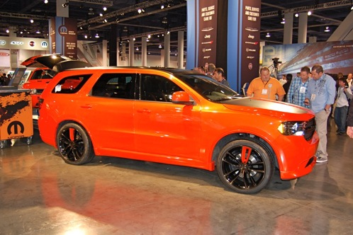 Dodge Goes Bright with Durango Tow Hook - SEMA Auto Show featured image large thumb3