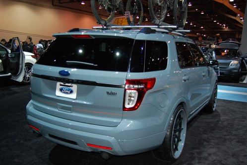 Ford Brings Modified Explorers to SEMA - SEMA Auto Show featured image large thumb2
