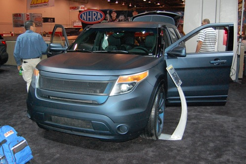 Ford Brings Modified Explorers to SEMA - SEMA Auto Show featured image large thumb10