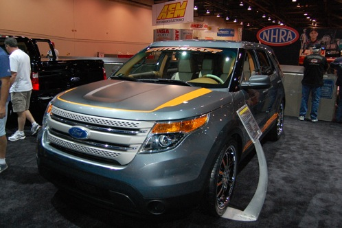 Ford Brings Modified Explorers to SEMA - SEMA Auto Show featured image large thumb23