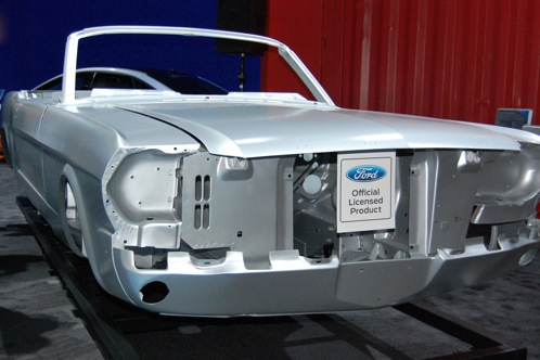 Ford Mustang Body Shell - SEMA Auto Show featured image large thumb1