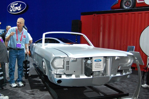 Ford Mustang Body Shell - SEMA Auto Show featured image large thumb2