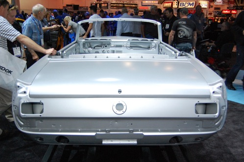 Ford Mustang Body Shell - SEMA Auto Show featured image large thumb3