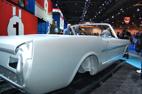 Ford Mustang Body Shell - SEMA Auto Show featured image large thumb6