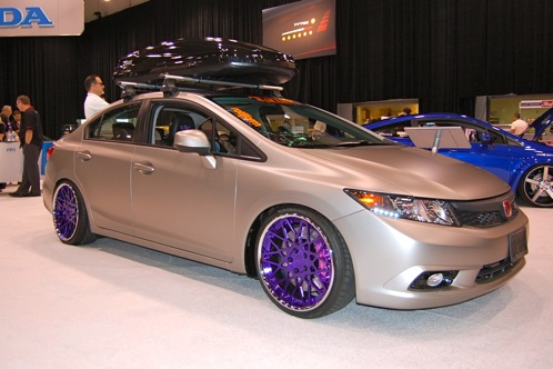 Tuners Take On 2012 Honda Civic Si - SEMA Auto Show featured image large thumb1