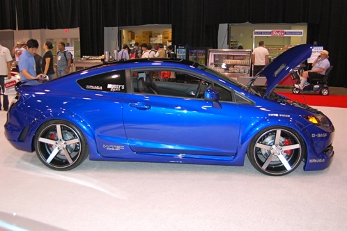 Tuners Take On 2012 Honda Civic Si - SEMA Auto Show featured image large thumb2