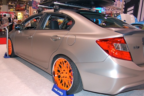Tuners Take On 2012 Honda Civic Si - SEMA Auto Show featured image large thumb3