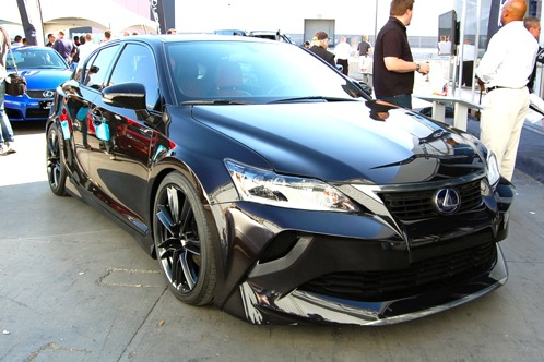Five Axis Lexus CT200h - SEMA Auto Show