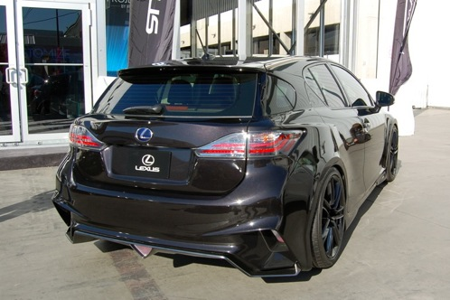 Five Axis Lexus CT200h - SEMA Auto Show featured image large thumb3