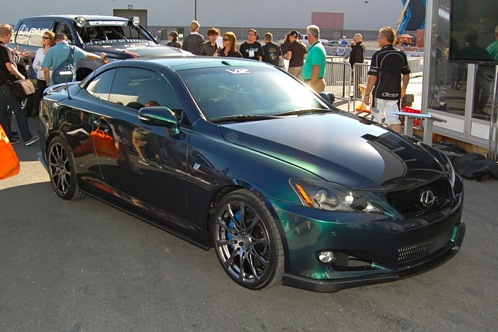 Lexus IS350C by VIP Auto Salon - SEMA Auto Show