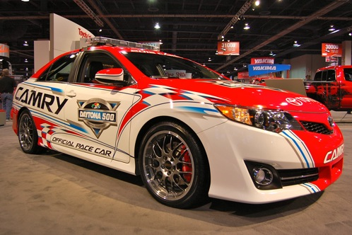 2012 Toyota Camry Daytona 500 Pace Car - SEMA Auto Show featured image large thumb0