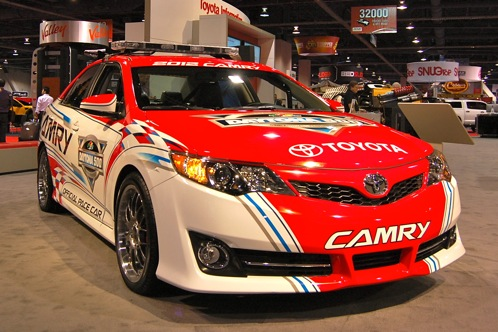 2012 Toyota Camry Daytona 500 Pace Car - SEMA Auto Show featured image large thumb1
