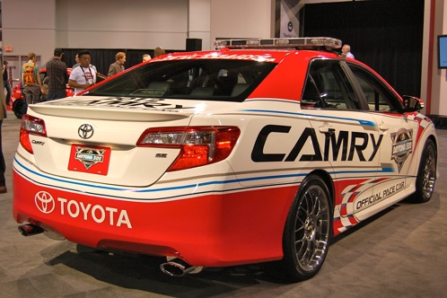 2012 Toyota Camry Daytona 500 Pace Car - SEMA Auto Show featured image large thumb2