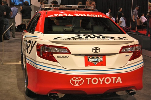 2012 Toyota Camry Daytona 500 Pace Car - SEMA Auto Show featured image large thumb3
