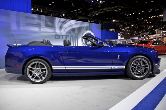 2013 Ford Shelby GT500 Convertible: Chicago Auto Show