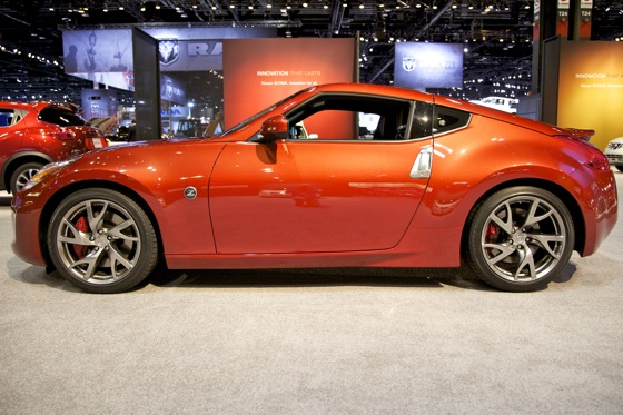 2013 Nissan 370Z: Chicago Auto Show featured image large thumb1