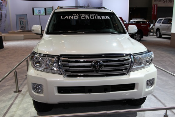 2013 Toyota Land Cruiser: Chicago Auto Show