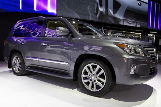 2012 Lexus LX 570: Detroit Auto Show featured image large thumb1