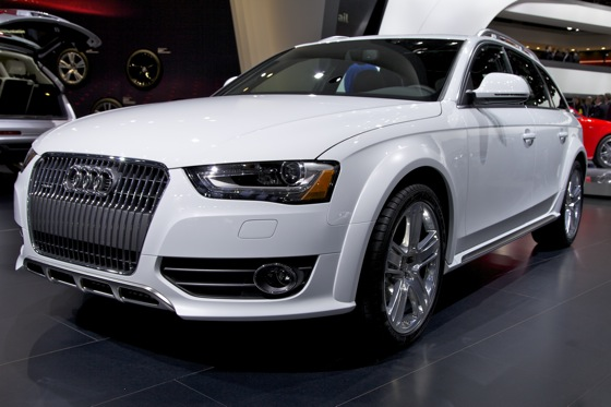 2013 Audi A4, S4, and Allroad Quattro: Detroit Auto Show