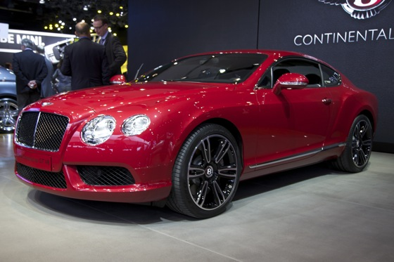 2013 Bentley Continental GT and GTC V8: Detroit Auto Show