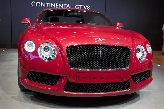 2013 Bentley Continental GT and GTC V8: Detroit Auto Show featured image large thumb1