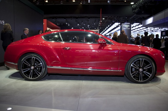 2013 Bentley Continental GT and GTC V8: Detroit Auto Show featured image large thumb2