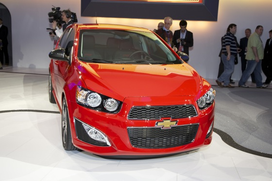 2013 Chevrolet Sonic RS: Detroit Auto Show featured image large thumb0
