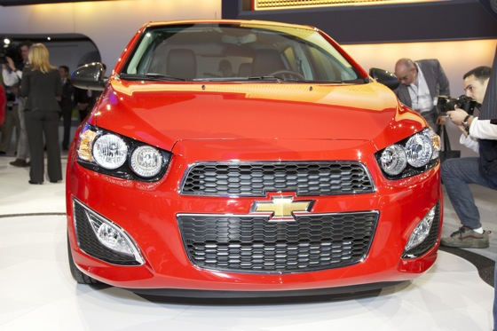 2013 Chevrolet Sonic RS: Detroit Auto Show featured image large thumb1