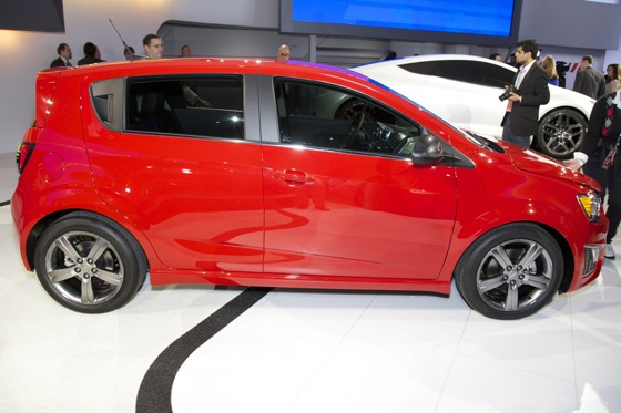 2013 Chevrolet Sonic RS: Detroit Auto Show featured image large thumb2