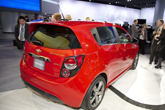 2013 Chevrolet Sonic RS: Detroit Auto Show featured image large thumb3